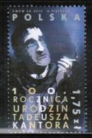 PL 2015 MI 4758 100th Anniversary Of The Birth Of Tadeusz Kantor - 1944-.... Republik