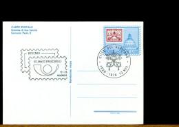 VATICANO - Intero Postale - 50 Anni Di Francobolli - Interi Postali
