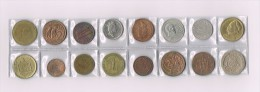 England, Grèce,Afrique,Danmark,Deutschland,Mexico,USA X 16 !!!!! Ensemble De Pièces De Monnaie-set Of Coins - Non Classés