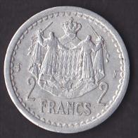 Monaco - Louis II - 2 Francs - Gadoury N°133 - SUP - 1922-1949 Louis II