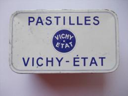 Boite Métal. Pastilles Vichy-Etat - - Boîtes