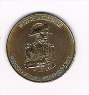 *** PENNING  BONAPARTE 1er CONSUL - MUSEE DE LA MALMAISON REALISE PAR TOTAL 1969 - Pièces écrasées (Elongated Coins)