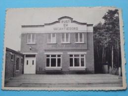 """Rust En Vacantieoord Home """" Karel Slootmaekers """" Voorgevel () Anno 1960 ( Voir/zie Foto Voor Details ) !! - Nijlen"""
