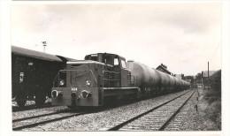 Train -  Origny Sainte Benoite  -Belle Photo Annee 1960 / 1970  **** - France