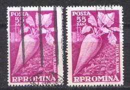 Rumänien; 1959; Michel 1776 O; Landwirtschaft; Zuckerrübe; Sfecla De Zahar - Usado