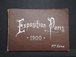 Dépliant De L ' Exposition De 1900 à Paris 1 ére Série - A Voir - Lot P14183 - Collections