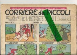 10  MAGGIO  1959   MANCA IL BUONO SUL RETRO E' STATO TAGLIATO --STATO  BUONO - Corriere Dei Piccoli