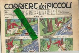 26  APRILE--  1959   MANCA IL BUONO SUL RETRO E´ STATO TAGLIATO --STATO  BUONO - Corriere Dei Piccoli