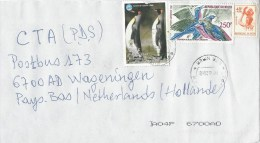 Niger 2008 Zinder Year Of The Ocean Pinguin Bird Official Stamp 45f Cover - Niger (1960-...)