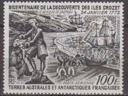 Antarctic.T.A.A.F.1972.Ship.Michel.74.MNH.22143 - Zonder Classificatie