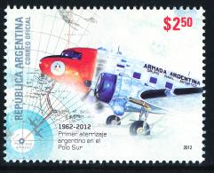 Antártida Argentina 1962-2012 Argentine First Landing At The South Pole** - Polar Flights