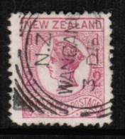 NEW ZEALAND   Scott  # P 4 VF USED - Used Stamps