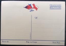 Carte Franchise Militaire Neuve - Frankrijk
