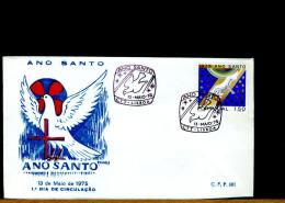 PORTUGAL - FDC -  ANO SANTO  -  ANNO SANTO 1975 - Cristianesimo