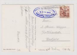 Heimat GR Oberalppass X 1943-09-06 Aushilfs-O Auf AK Nach Erstfeld - Suisse