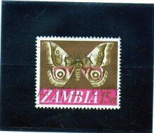 1968 Zambia - Farfalla - Zambia (1965-...)