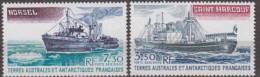 Antarctic.T.A.A.F.1980.Ships.Michel.155-56.MNH.22164 - Zonder Classificatie