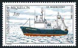 ST-PIERRE ET MIQUELON 1988 - Yv. 493 **   Faciale= 0,46 EUR - Chalutier 'Le Marmouset' ..Réf.SPM10808 - St.Pierre Et Miquelon