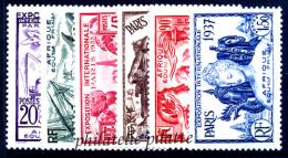 1937 Exposition De Paris 126 Valeurs* - Frankrijk (oude Kolonies En Protectoraten)