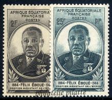 1945** Félix Eboué - France (ex-colonies & Protectorats)