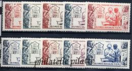 1950** ?uvres Sociales De La France - France (ex-colonies & Protectorats)