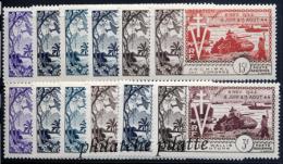 1954** 10eme Anniversaire De La Libération - France (ex-colonies & Protectorats)