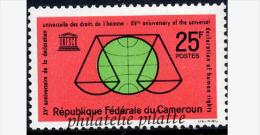 1963** 15eme Ann. Des Droits De L?Homme - France (ex-colonies & Protectorats)