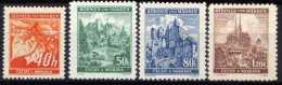 Böhmen Und Mähren 1940 Mi 38-41 ** [241213III] @ - Occupation 1938-45