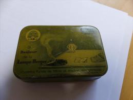 RARE Boite Métallique Publicitaire Le Brûleur LAMPE BERGER 1930 BERGER ART DECO - Boxes