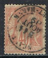 FRANCE : N° 94 Oblitéré (Type Sage) - PRIX FIXE : 1/3 De La Cote - - 1876-1898 Sage (Type II)