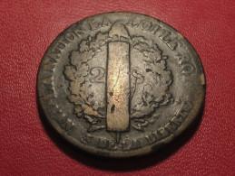 2 Sols 1793 D.. Riorges Louis XVI 3316 - 1789 – 1795 Monedas Constitucionales