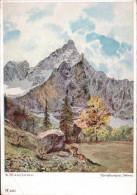 Spritzkarspitze - Karwendel - Künstlerkarte - Österreich