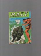 Kali ,album N°17avec N°65,66,67,68 - Boeken, Tijdschriften, Stripverhalen