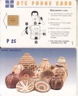 BOTSWANA - Baskets(CN On The Pictorial Side), Used - Botswana