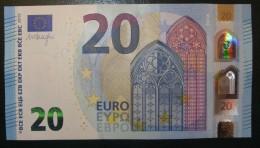 6x 20 EURO S004 SA+SB+SC+SD+SE+SF Draghi Italy Perfect  UNC - EURO