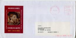 EMA,Belgique,art,musée,Musées Royaux D'art Et D'histoire,Keizer Karel,Charles-Quint,lettre Brussel 8.10.1993 - Museums
