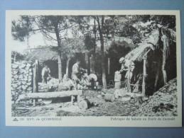 CLOHARS-CARNOET  Environs De QUIMPERLE  Les Derniers Sabotiers En Forêt De Carnoet - Clohars-Carnoët