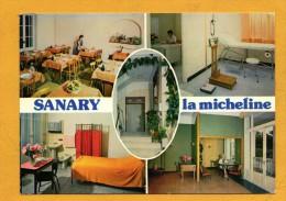 """83 Var Sanary """" La Micheline """" Maison De Repos Et De Convalescence Carte Multivues - Sanary-sur-Mer"""