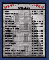 MAGNET Publicitaire : Ville De Chelles 77, Les Numéros Utiles - Advertising