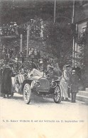 EVENEMENTS  Visite Célébrité - Kaiser WILHEM II Auf Der SCHLUCHT 88 (11/09/1903) Beau 1er Plan TACOT - CPA - Vosges - Réceptions
