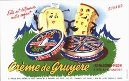BUVARD  Excellent état - PICON Crème De Gruyere - - Food