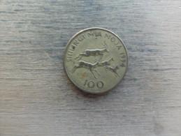 Tanzanie  100 Shilingi  1994  Km 32 - Tanzanie