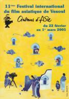 VESOUL     HAUTE SAONE 70   CPM    CINEMA D'ASIE 2005 - Vesoul