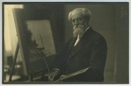 Autoportrait En Peintre Du Photographe Jacob (Jacques) Lüscher (1876-1956 ) à Nyon (Suisse). - Famous People
