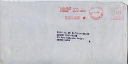 EMA Art,theatre,TEP Théatre De L'Est Parisien,Théatre National,Avenue Gambetta,Paris,lettre 6.11.1985 Paris Rue Du Teleg - Theatre