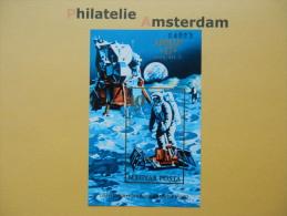 Hungary 1973, IMPERF / APOLLO 17 / SPACE RAUMFAHRT ESPACE: Mi 2832, Bl. 94 B, ** - Ruimtevaart