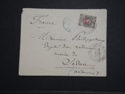 RUSSIE - Enveloppe ( Grand Manque Au Dos ) Pour La France En 1879 - A Voir - Lot P14219 - Briefe U. Dokumente