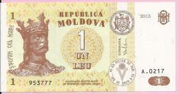 Banknotes - 1 LEU, 2013., Moldova - Moldova