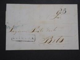 PORTUGAL - Enveloppe ( Avec Texte ) De Coimbra Pour Porto En 1849  - A Voir - Lot P14220 - ...-1853 Préphilatélie