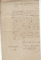 Boom, 22 September 1830, Opeising Paarden Van Dhr. Frans Kennes Voor Inval Van Brussel, Ontstaan Van België (X11231) - Historische Dokumente